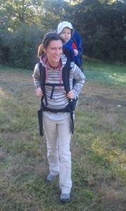On a hike!